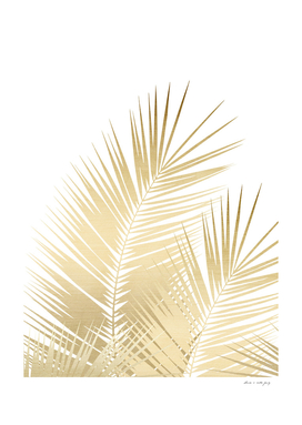 Gold Palm Leaves Dream - Cali Summer Vibes #1 #tropical
