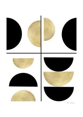 Sun and Moon Geometric #1 #minimal #decor #art