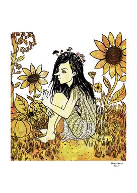 Pagan field pixie