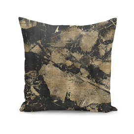 Abstract Gold Marble Pattern