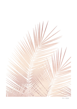 Rose Gold Palm Leaves Dream - Cali Summer Vibes #1 #tropical