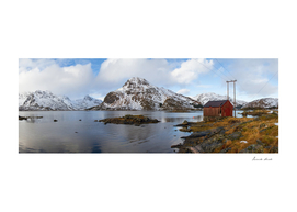The Red Shed Panorama
