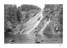 Rock Water Nude