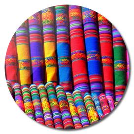 substances colorful towels scarf