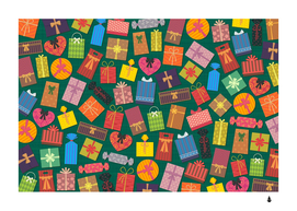 presents gifts background colorful