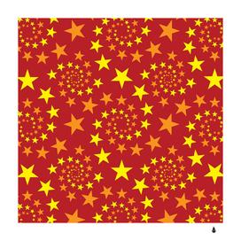 Star stars pattern design