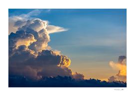 Dramatic cloudy