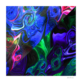 Contemporary Fluid Abstract_Oil_Paint