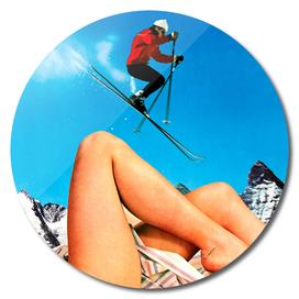 Skiing Time