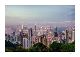 Hongkong sunset 2