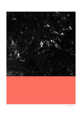 Living Coral Meets Black Marble #1 #decor #art