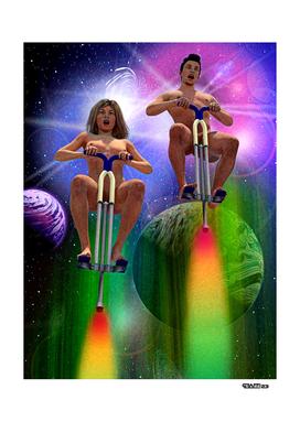 Pogo Stick the Universe