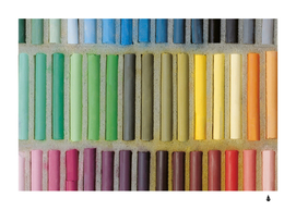Pastels cretaceous about color