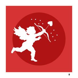 cupid bow love valentine angel
