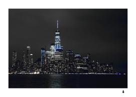 New york skyline city