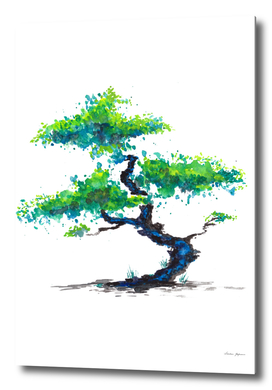 Blue Bonsai