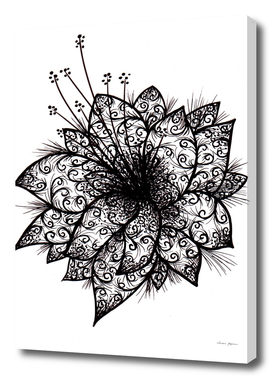 Orchid Lineart