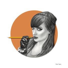 Orange NicArtistic Girl