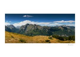 Climbing Vrh Bora