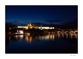 Prague Castle @night