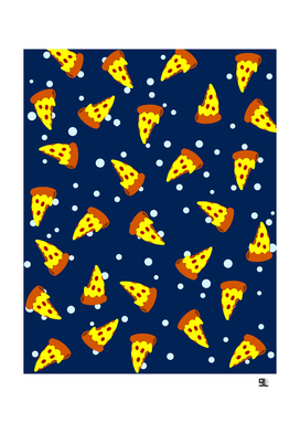 Pizza Space Pattern