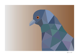 PIGEON LOW POLY ART