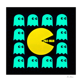 Pac Man in the middle