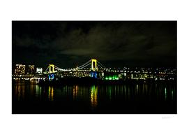 Rainbow Bridge In Odaiba