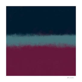 Blue Foggy Horizon