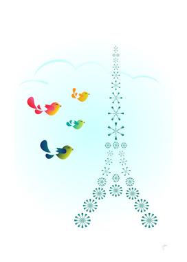 Bird Travellers - Paris