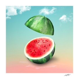 Watermelon Vignette