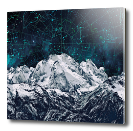 Constellations over the Mountain