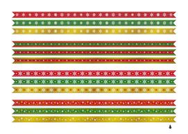 Christmas ribbons christmas gold