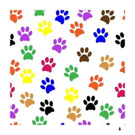 Pawprints paw prints paw animal