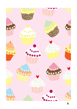 Cupcakes wallpaper paper background