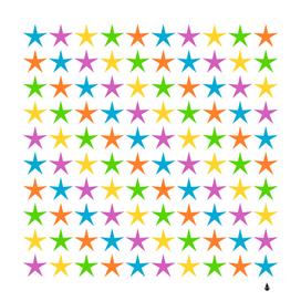star pattern design decoration