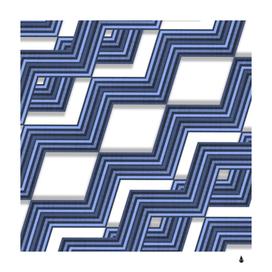 Geometric fabric texture diagonal