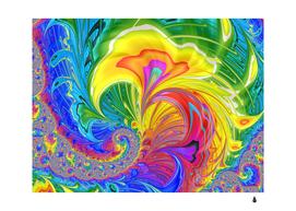 fractal bright exploding brilliant