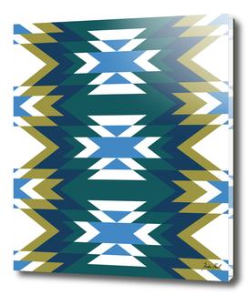 Bohemian Style Geometric Pattern