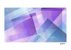 Beautiful Blue and Purple - Digital Geometric Texture