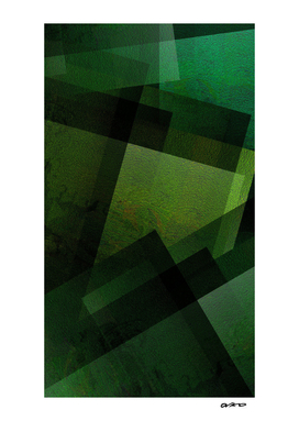 Charming Chartreuse Green - Digital Geometric Texture