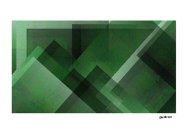 Elegant Emerald - Digital Geometric Texture