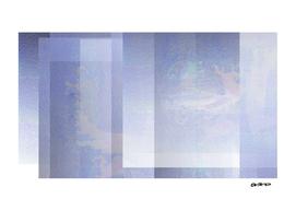 Glitch in the Sky - Digital Geometric Texture