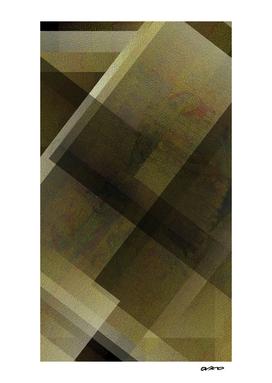 Gorgeous Gold - Digital Geometric Texture