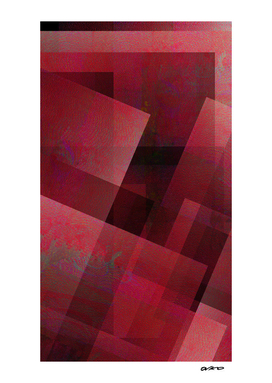 Ravishing Red - Digital Geometric Texture