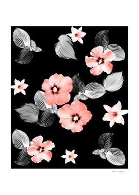 Living Coral Floral Dream #1 #flower #pattern #decor #art
