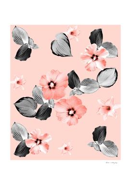 Living Coral Floral Dream #2 #flower #pattern #decor #art