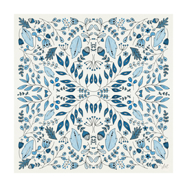 Floral Mix – Blue