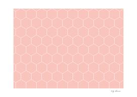Pink Hexagons