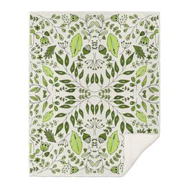 Floral Mix – Green